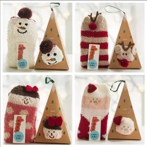 Mixed Holiday Ornament Sock Boxes